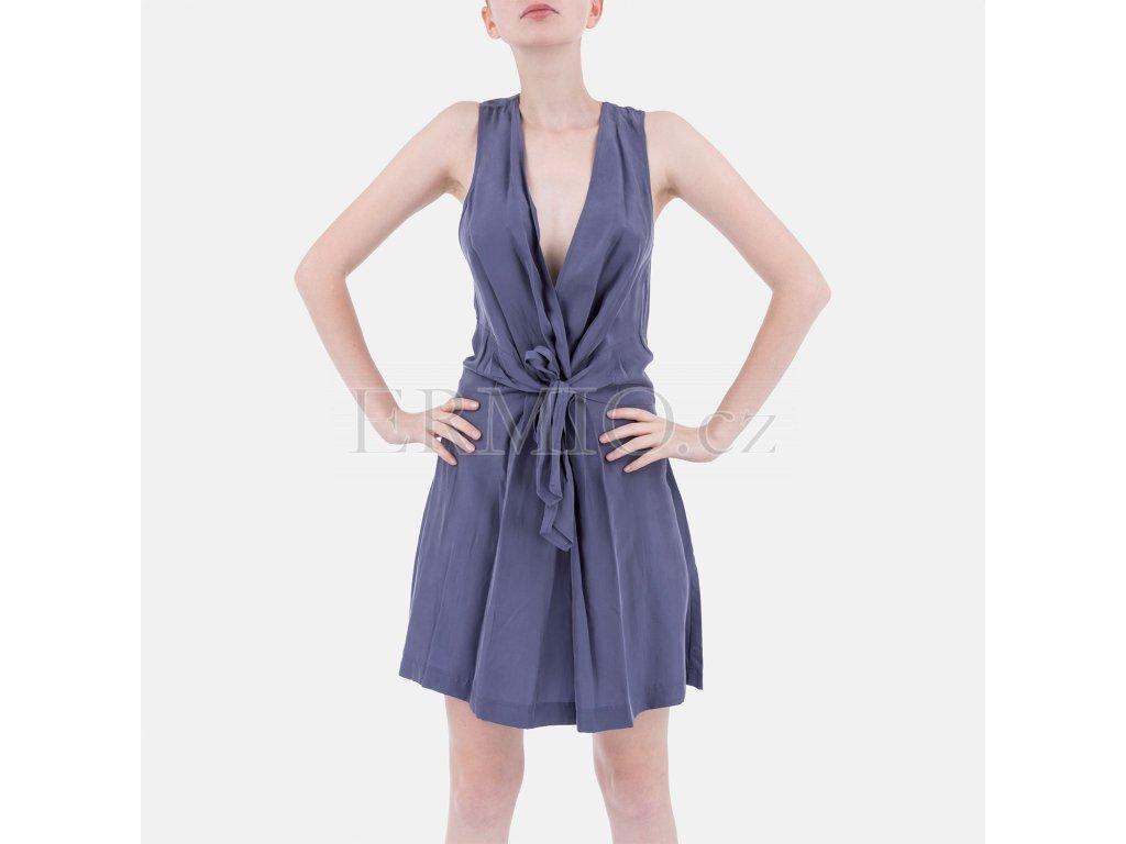 Letní šaty Armani levandulové barvy