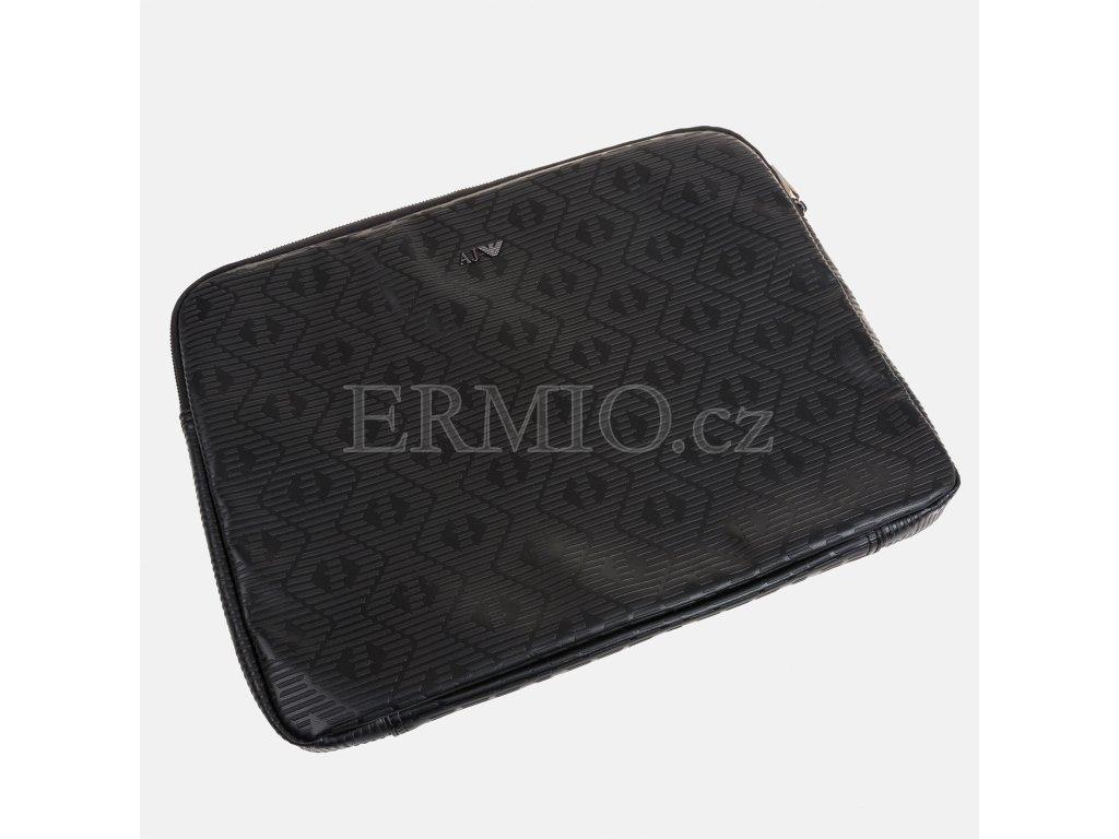 Luxusní Černé pouzdro Armani Jeans v e-shopu   Ermio Fashion 4748386930