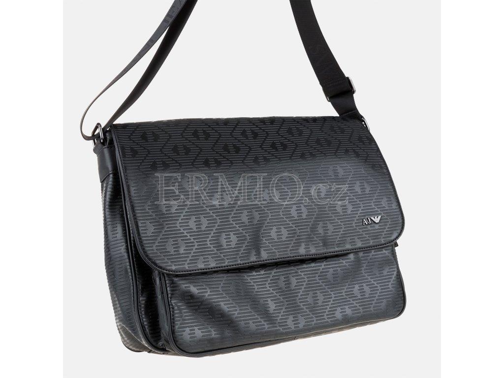 70529bb87e Luxusní Taška černá Armani Jeans v e-shopu   Ermio Fashion