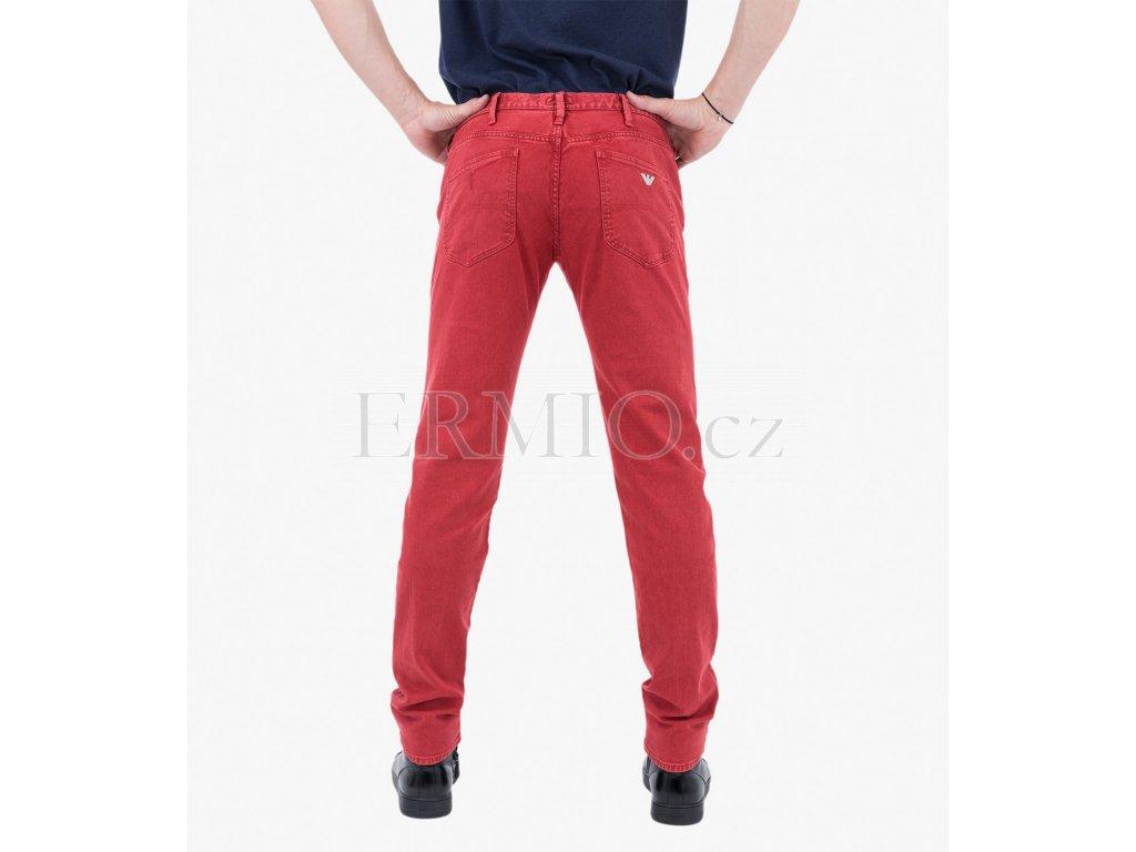 Červené džínové kalhoty Armani Jeans · Červené džínové kalhoty Armani Jeans  ... 6d8ca8dc70