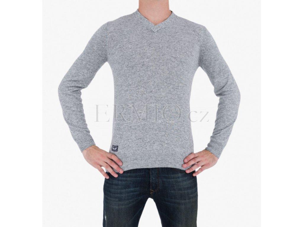 Šedý svetr Armani Jeans