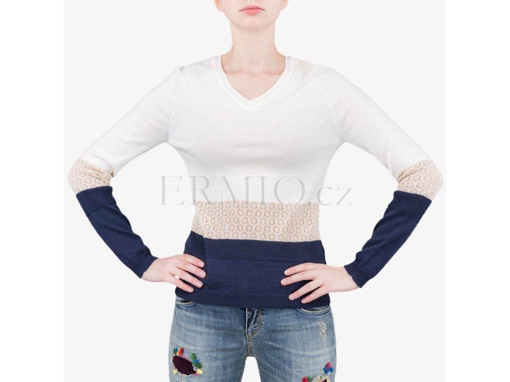 Barevný svetr Armani Jeans