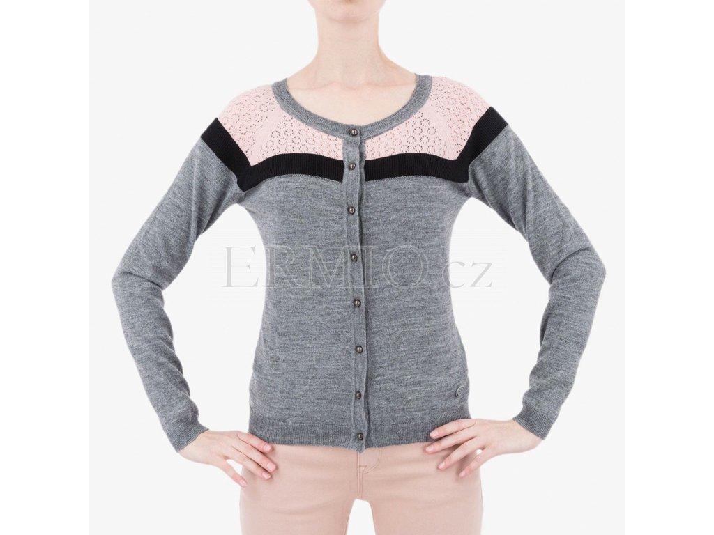 aba3f270c83 Luxusní Šedý svetr Armani Jeans v e-shopu   Ermio Fashion