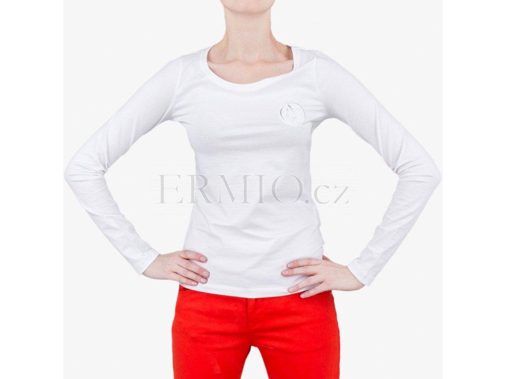 d01afced4d Luxusní Bílé tričko Armani Jeans v e-shopu   Ermio Fashion