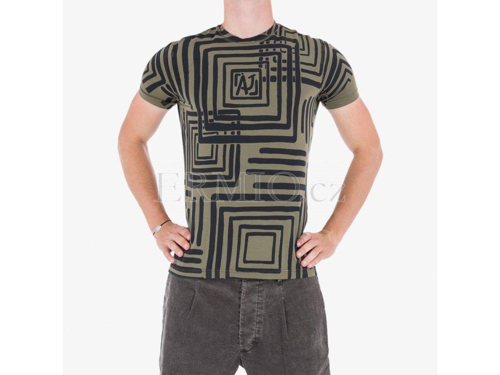 94d16d8f39c6 Pánské značková luxusní trička Armani