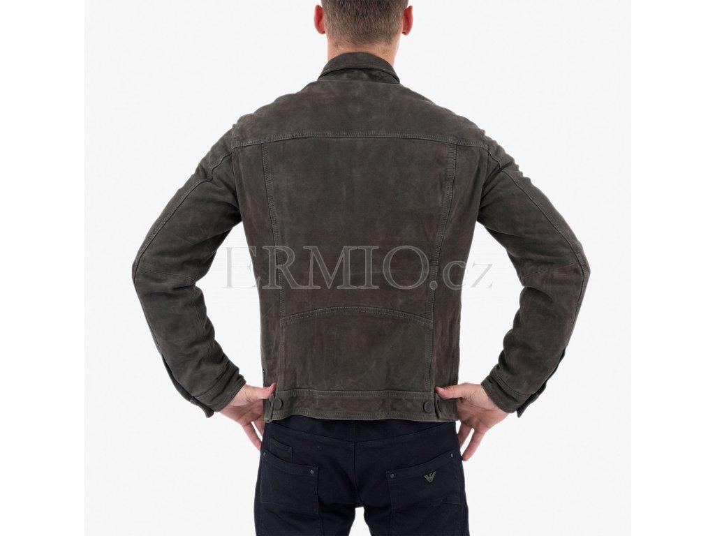 Šedá bunda Armani Jeans