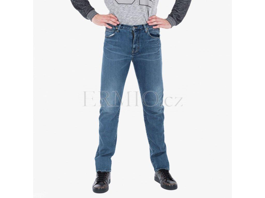 Džíny modré Armani Jeans