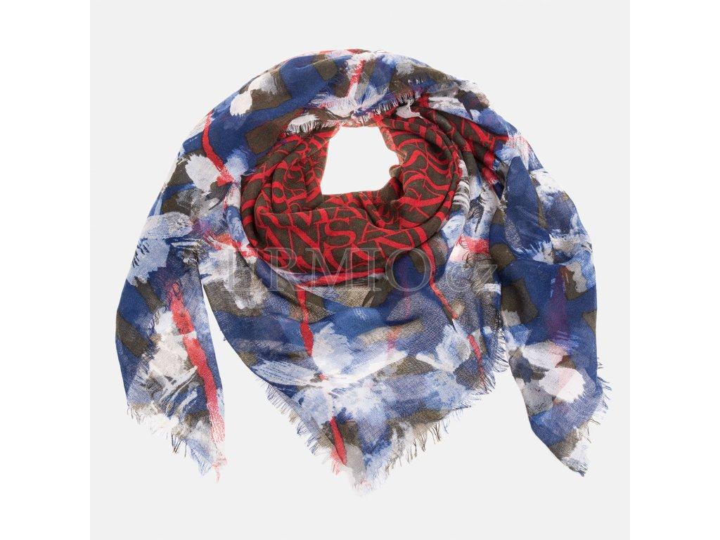 Luxusní Barevný šátek Armani Jeans v e-shopu   Ermio Fashion 60d5195ceb