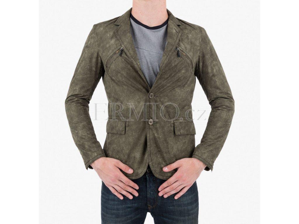Zelená bunda Armani Jeans