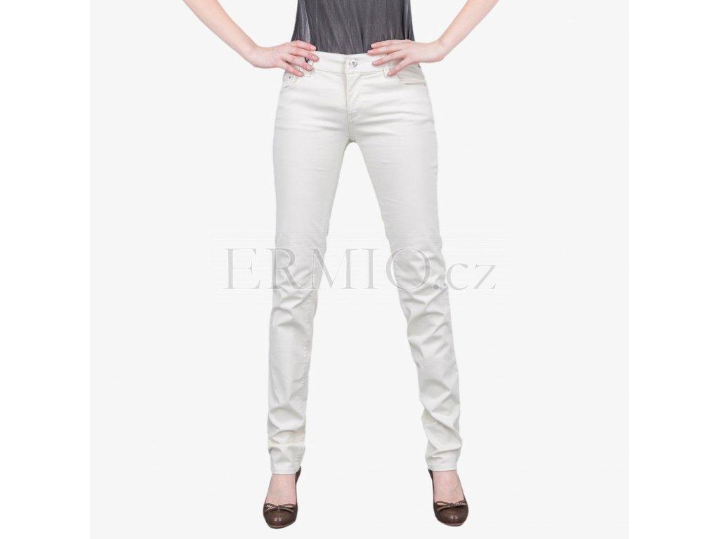 Bílé džíny Armani Jeans