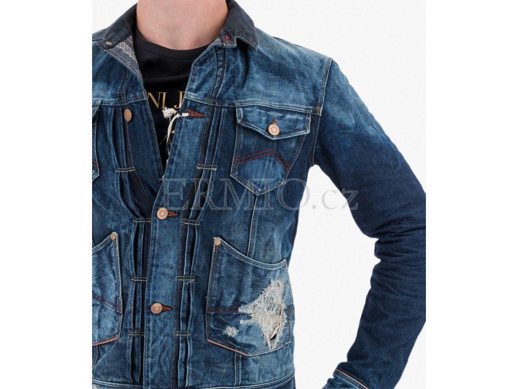 Luxusní Džínová bunda Armani Jeans v e-shopu   Ermio Fashion 92da1edb7c