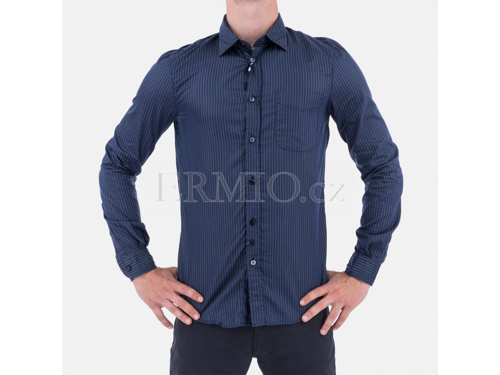 Košile Armani modrá