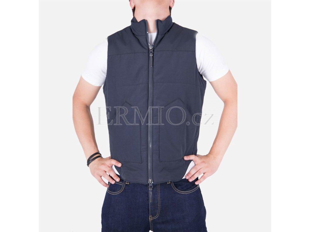 Stylová pánská vesta Armani Jeans modrá
