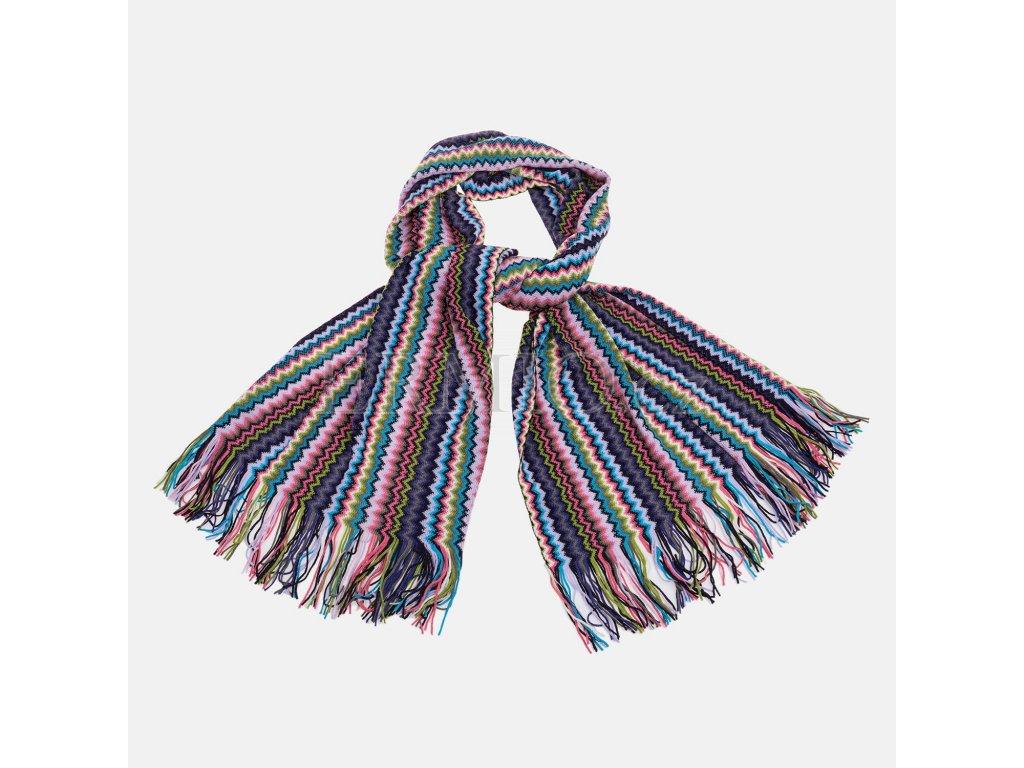 a46cb6b0630 Luxusní Dámská barevná šála Missoni v e-shopu   Ermio Fashion