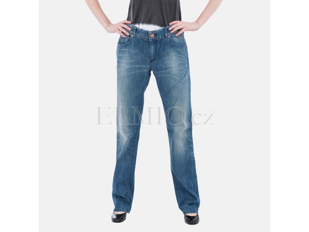 Značkové dámské džíny Armani modré