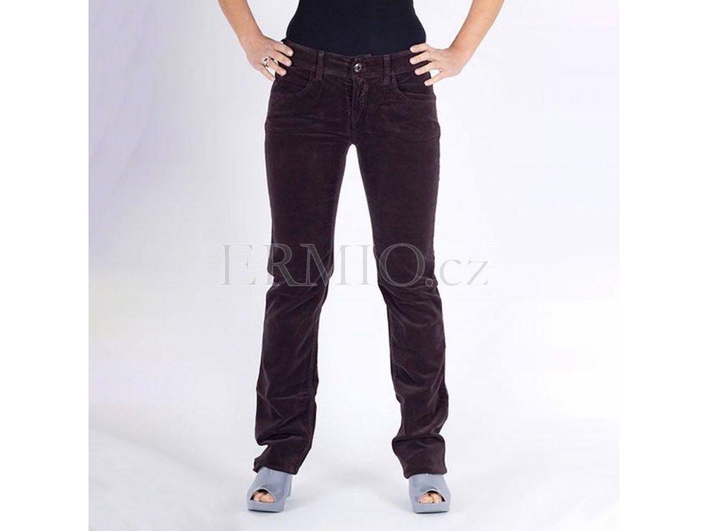 Luxusní dámské džíny Armani sametové
