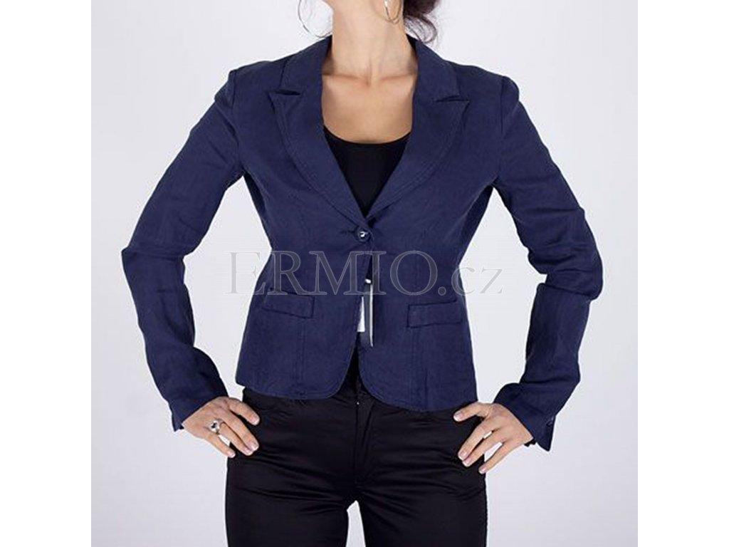 Značkové dámské sako Armani modré