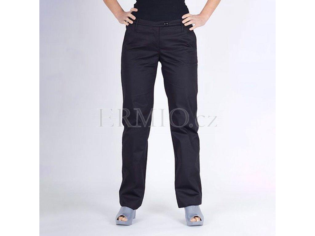 Dámské značkové kalhoty Armani černé
