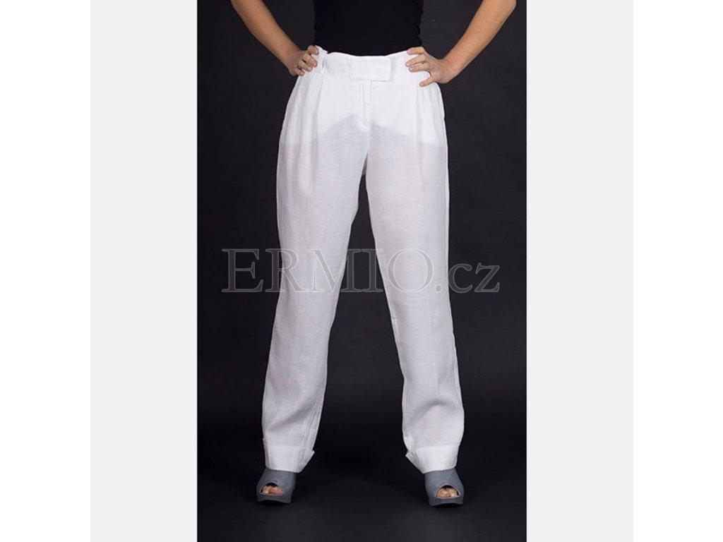 Luxusní Dámské značkové kalhoty Armani bílé v e-shopu   Ermio Fashion 55eaa174c1