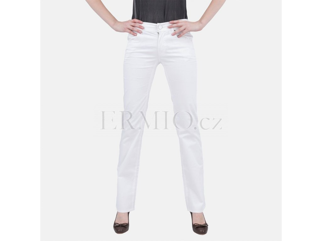 Dámské bílé luxusní džíny Armani Jeans