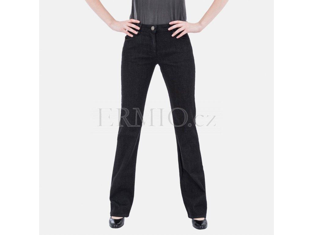 Dámské značkové černé džíny Armani Collezioni