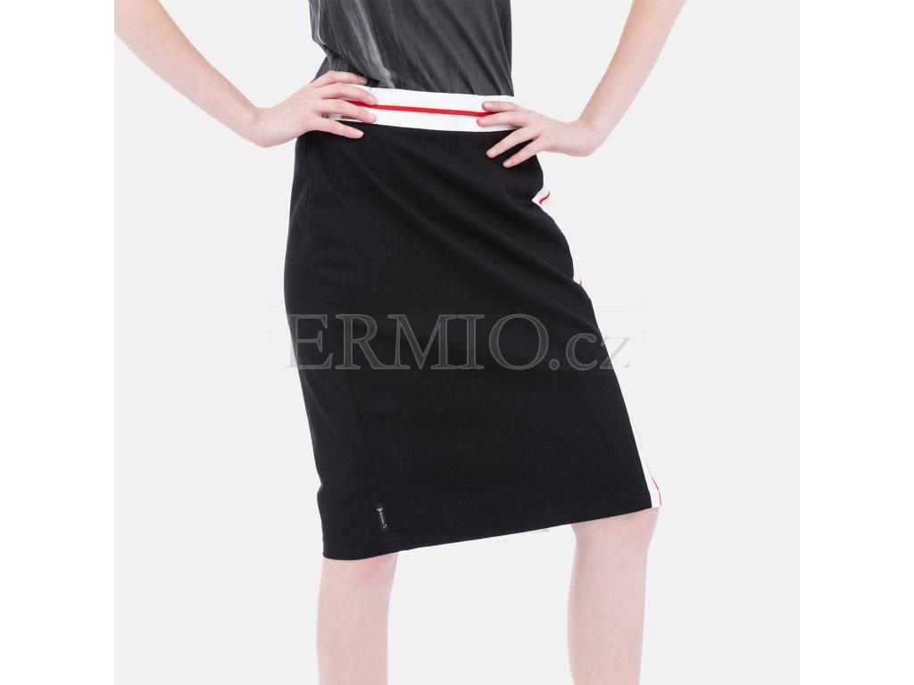 Luxusní Značková sukně Armani Jeans černá v e-shopu   Ermio Fashion f7027708d4