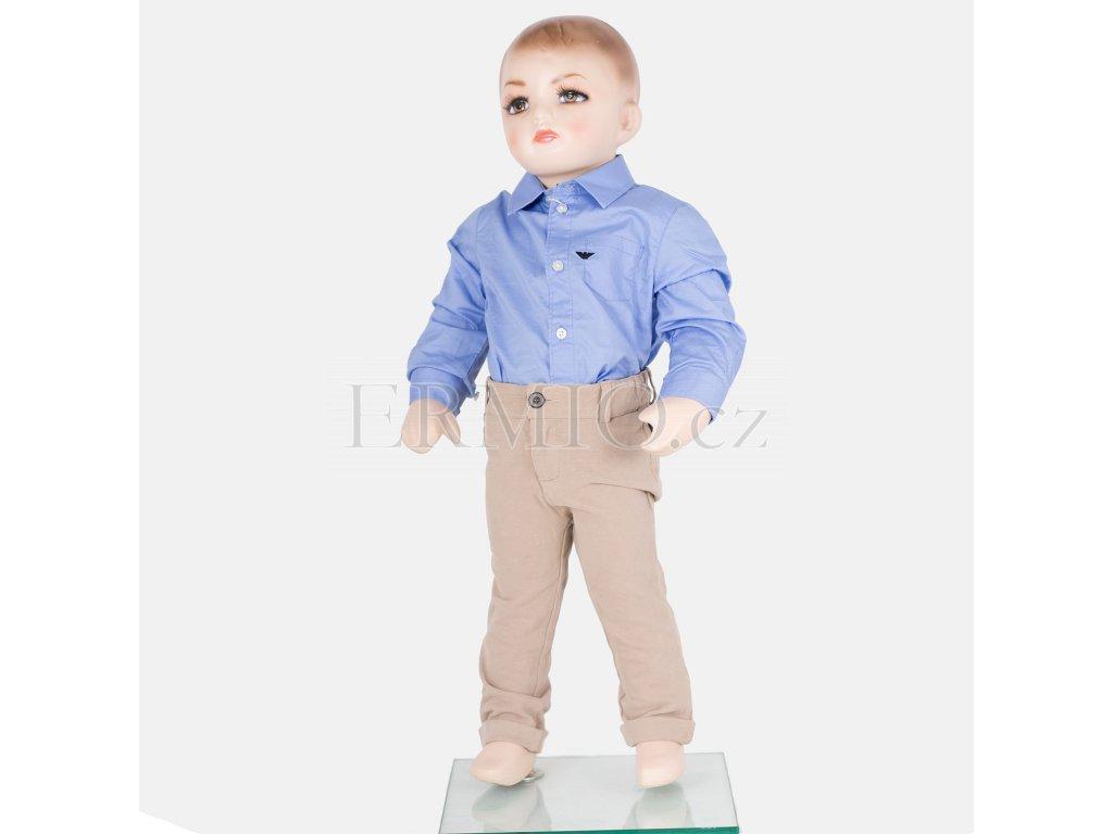 Elegantní béžové kalhoty Armani Baby