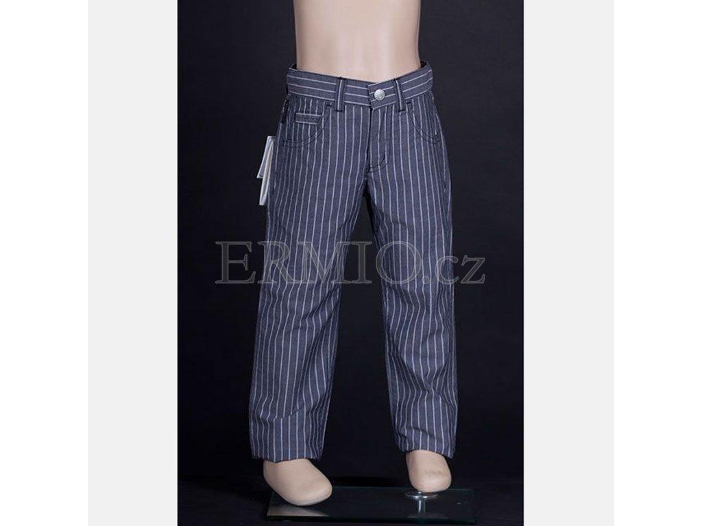 Luxusní dětské kalhoty Armani šedé