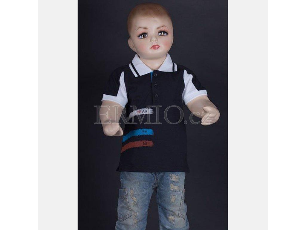 Dětské luxusní tričko Polo Armani