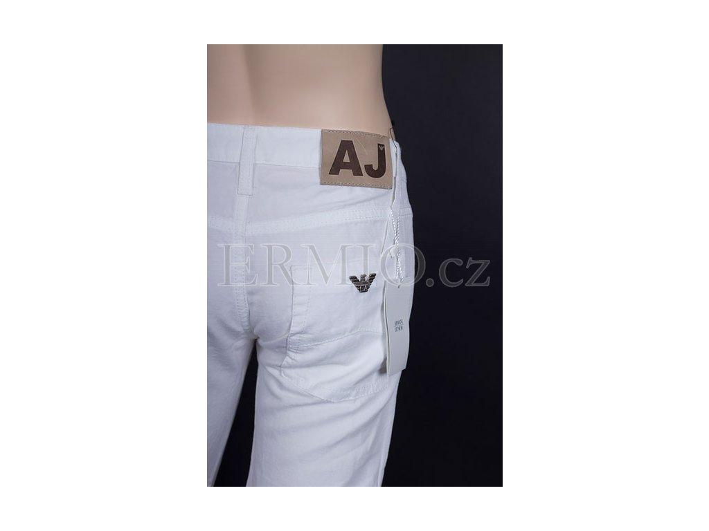 81086fbf3fc Luxusní Značkové dětské rifle Armani bílé v e-shopu   Ermio Fashion