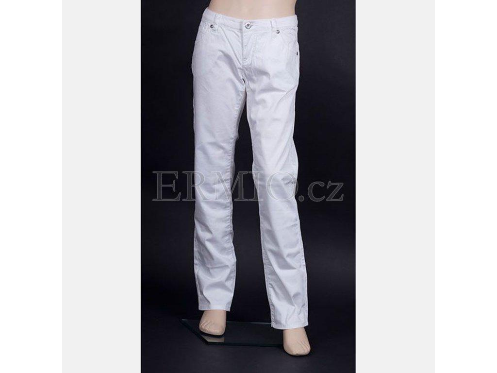 Dětské džíny Armani Junior bílé