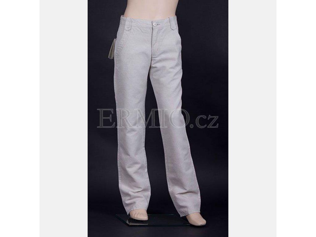 Značkové dětské džíny Armani šedé