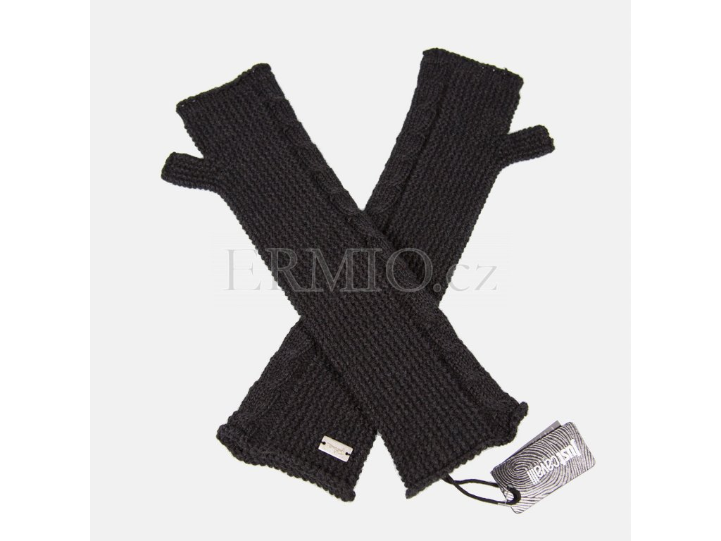 Krásné šedé rukavice Justcavalli