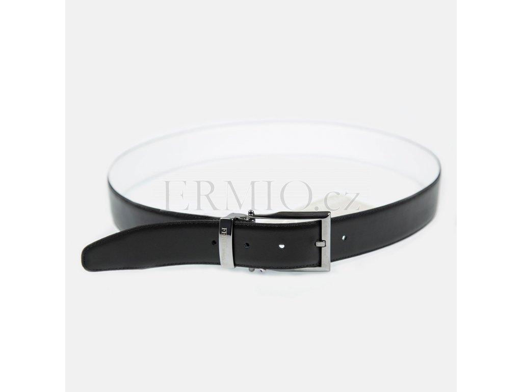 Luxusní pásek bílý / černý  GF Ferre