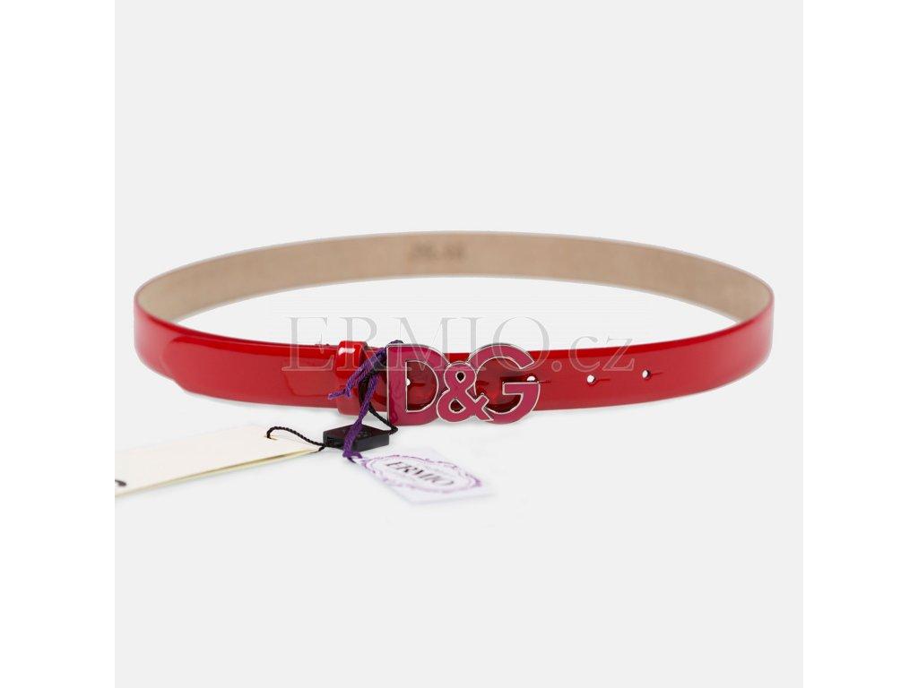 Luxusní dámský kožený pásek Dolce&Gabbana