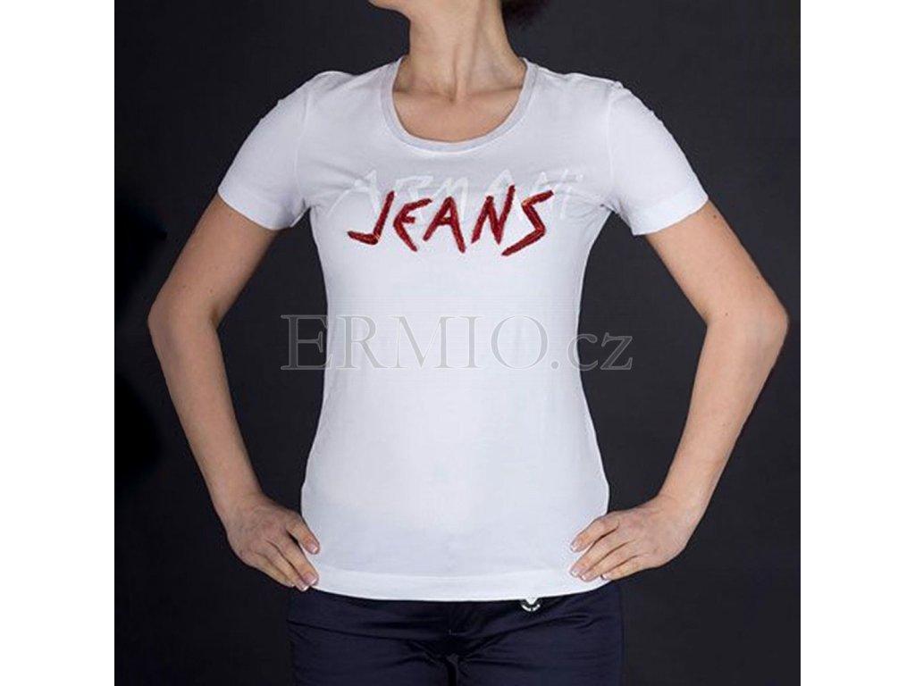 Dámské tričko Armani Jeans bílé
