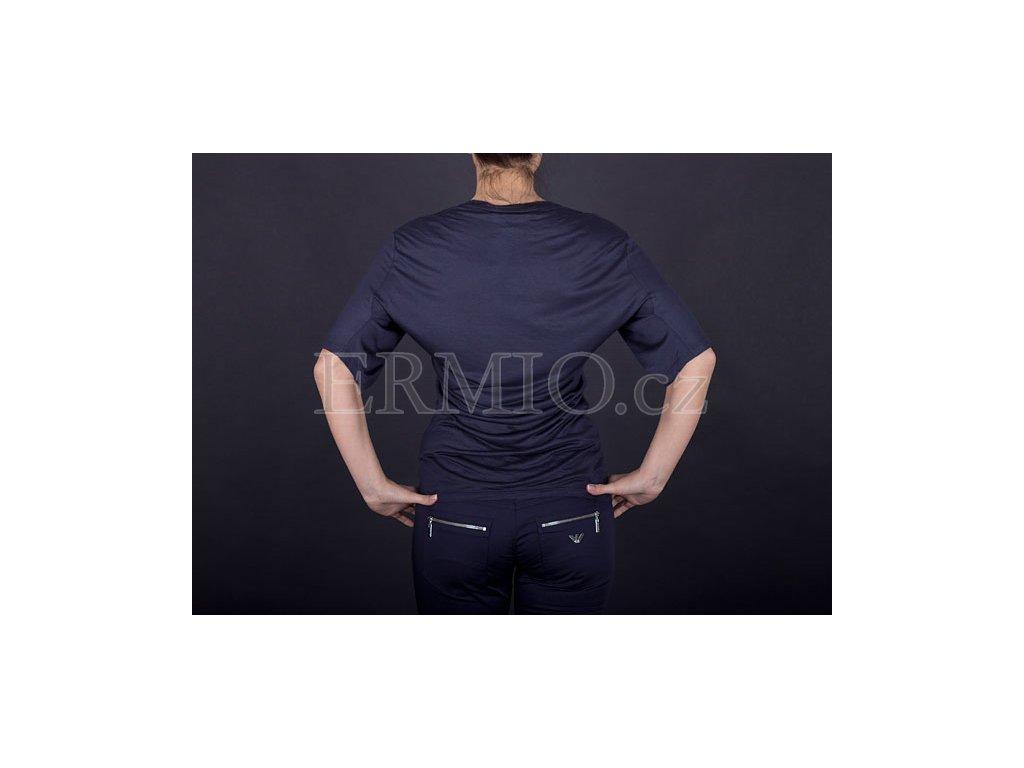 Luxusní dámské tričko tmavě modré · Luxusní dámské tričko tmavě modré ... ee1fc42c54