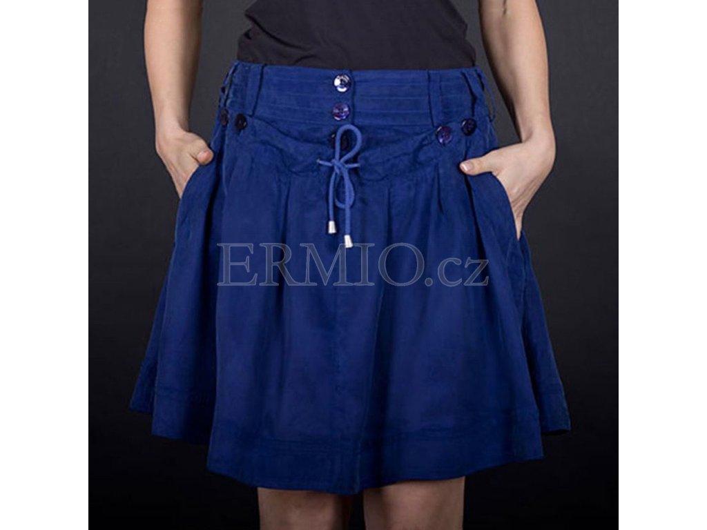 Moderní sukně Armani modrá