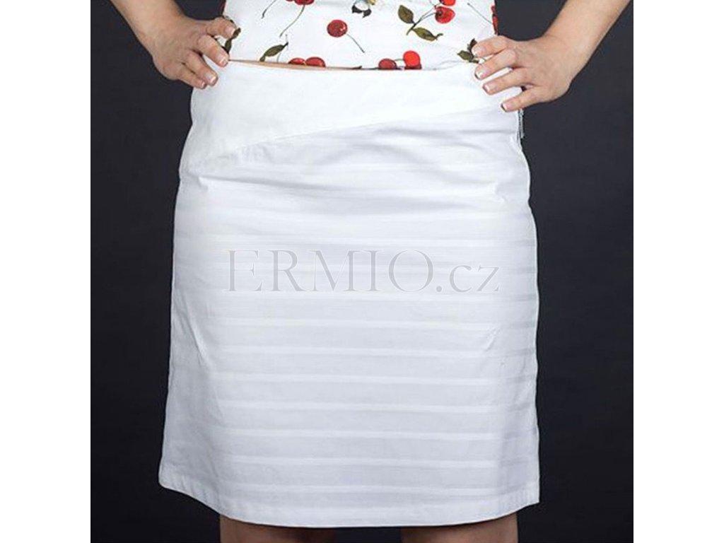 Dámská sukně Armani bílá