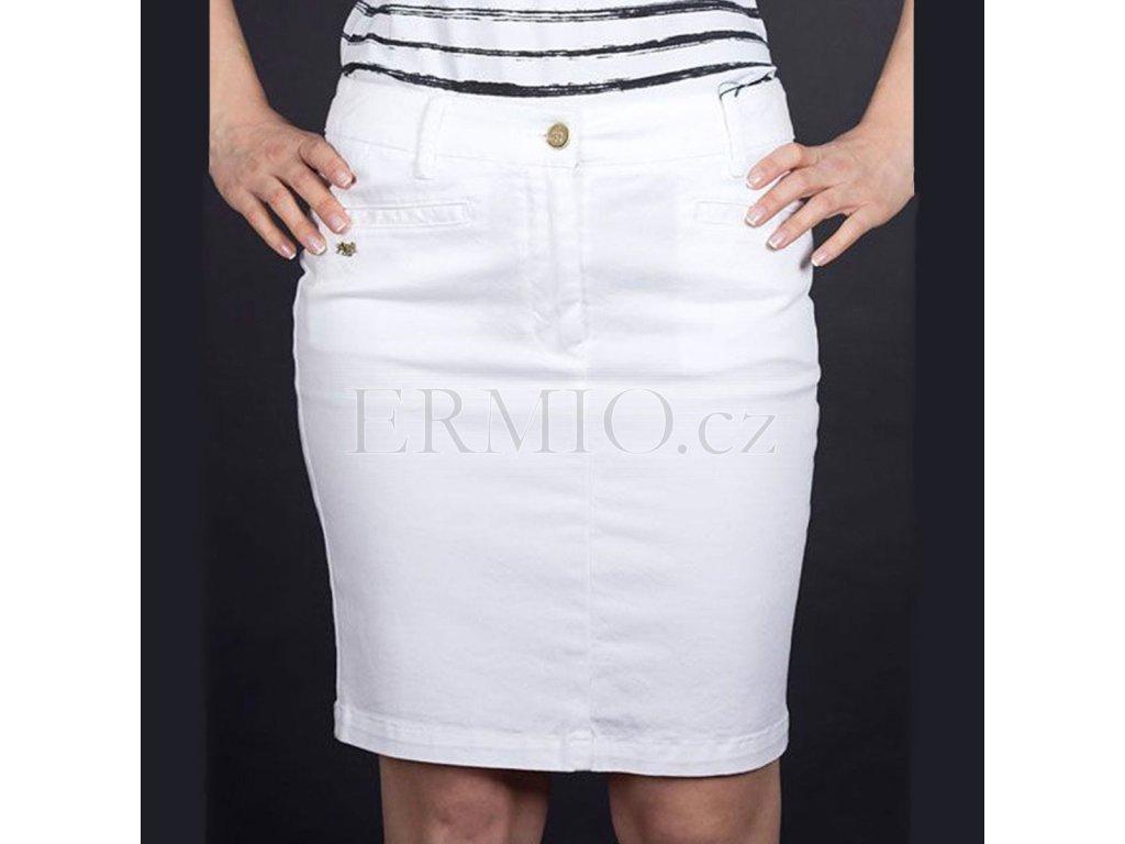 Luxusní sukně Armani bílá