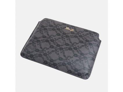 """Stylové šedé pouzdro na iPad / tablet 10""""  Liu-Jo"""