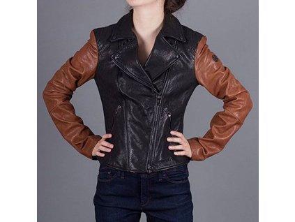 Dámská kožená bunda Armani Jeans