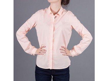Luxusní dámská meruňková košile Armani