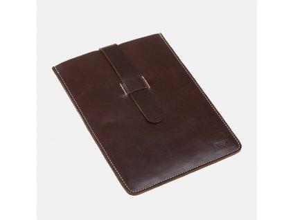 Kožené pouzdro na iPad AJ hnědé