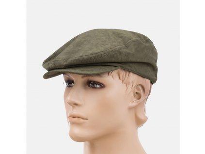 Trendová pánská čepice s kšiltem Armani zelená