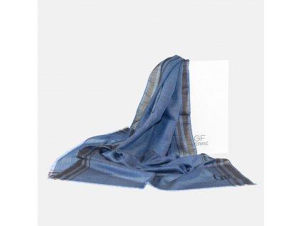 Šála GF Ferre modrá
