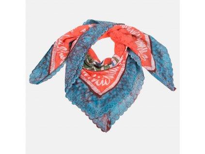 Stylová dámská šála Vivienne Westwood barevná