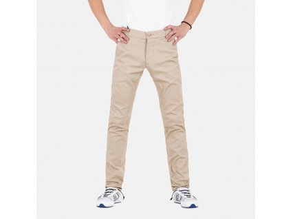Béžové kalhoty Armani Jeans