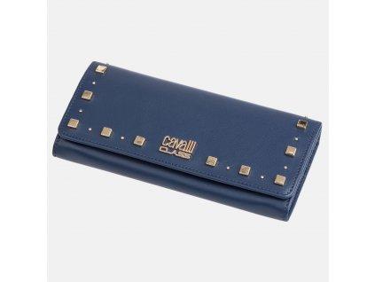 Modrá peněženka Cavalli
