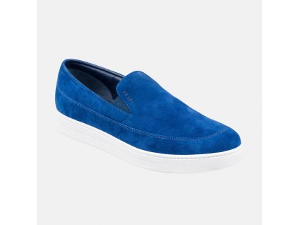 Značková modrá obuv Prada c80924e000